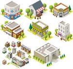 Link toFashion cartoon architecture vector