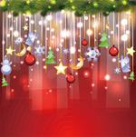 Link toFashion christmas background vector