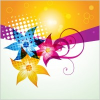 Link toFashion color background vector