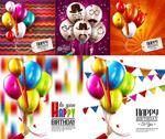 Link toFashion color balloons vector