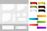 Link toFashion color labels vector