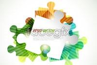 Link toFashion color puzzle vector ii