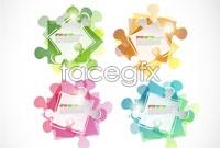 Link toFashion color puzzle vector iii