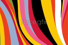 Link toFashion colorful dynamic lines background vector