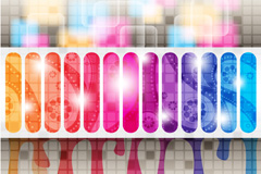 Link toFashion colorful vector background