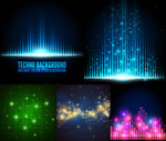 Link toFashion cool fantasy backgrounds vector