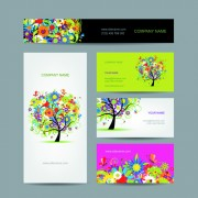 Link toFashion creative banner and cards vector 06 free