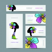 Link toFashion creative banner and cards vector 07 free