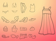 Link toFashion drawings vector free
