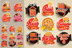 Link toFashion fast food icons vector
