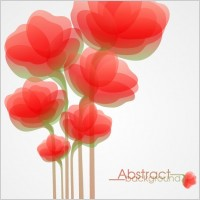 Link toFashion flowers vector 4