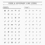 Link toFashion food icons vector