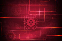 Link toFashion gear technology background vector
