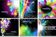 Link toFashion glare glow background vector