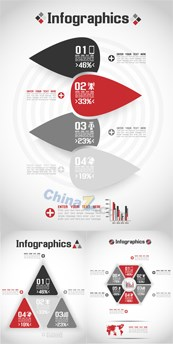Link toFashion infographic vector design