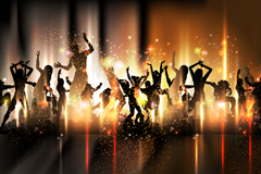 Link toFashion party background vector