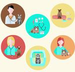 Link toFashion pet shop icons vector