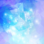 Link toFashion polygon background vector