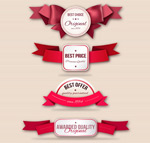 Link toFashion promotional labels vector