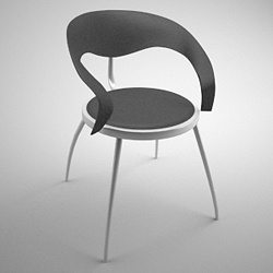 Link toFashion simple chair 3d models