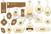 Link toFashion simple sale tag vector