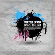 Link toFashion splash effect with grunge background vector 02 free