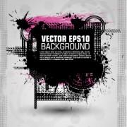 Link toFashion splash effect with grunge background vector 03 free