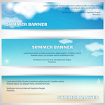 Link toFashion summer banners vector