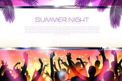 Link toFashion summer party poster vector