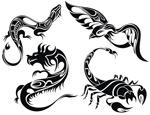 Link toFashion tattoo patterns vector