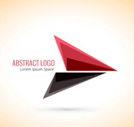 Link toFashion triangle logo vector