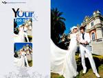 Link toFashion wedding dress psd