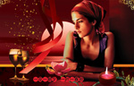 Link toFashion wine advertising psd