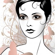 Link toFashion woman abstract design vector 04 free