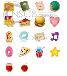 Link toFast food computer icons