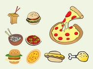 Link toFast food vectors free