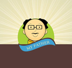 Link toFather's day poster vector