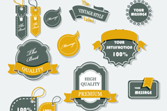 Link toFeatured products of creative tag vector