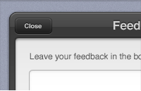 Link toFeedback form interface psd