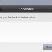 Link toFeedback form interface