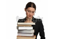 Link toFemale teachers holding the book hd photo