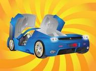 Link toFerrari car vector free