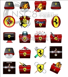 Link toFerrari desktop icons