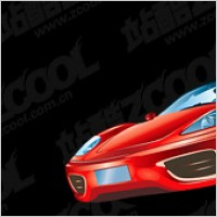 Link toFerrari f360 car vector material