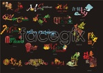 Link toFestive character design vector