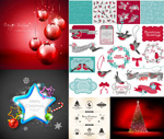 Link toFestive christmas atmosphere vector