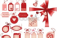 Link toFestive decorations and listed on ai vector