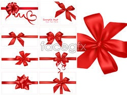 Link toFestive red gift bow vector