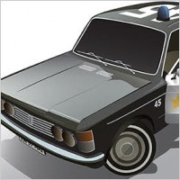 Link toFiat car vector