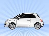 Link toFiat car vector free